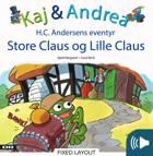 Store Claus og Lille Claus af Kjeld Nørgaard