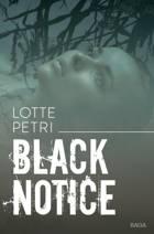 Black notice af Lotte Petri