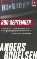 Rød september af Anders Bodelsen