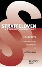 Straffeloven & straffuldbyrdelsesloven m.v. af Jørn Vestergaard