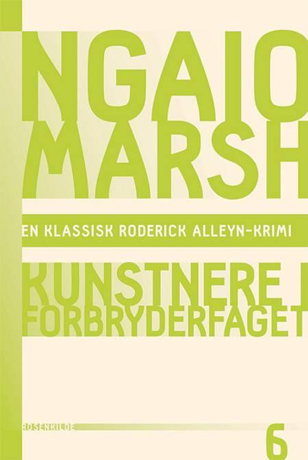 Kunstnere i forbryderfaget af Ngaio Marsh