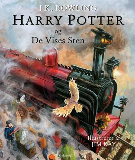 Harry Potter og De Vises Sten (illustreret) af J.K. Rowling