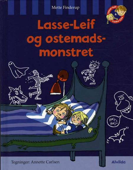 Lasse-Leif og ostemadsmonstret af Mette Finderup