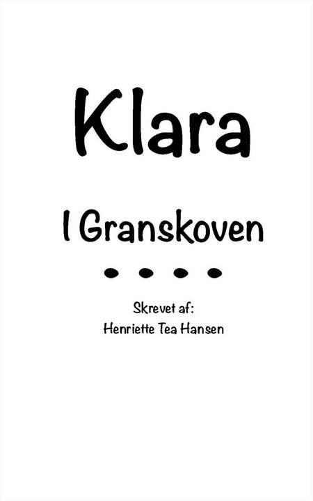 Granskoven af Henriette Tea Hansen