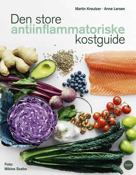 Den store antiinflammatoriske kostguide af Anne Larsen og Martin Kreutzer