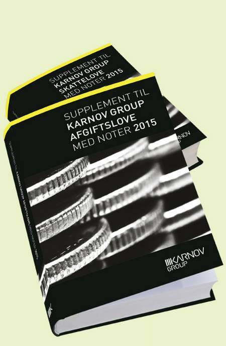 Supplement til Karnov Group skatte- og afgiftslove