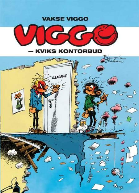 Vakse Viggo: Kviks kontorbud af André Franquin