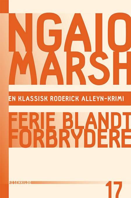 Ferie blandt forbrydere af Ngaio Marsh