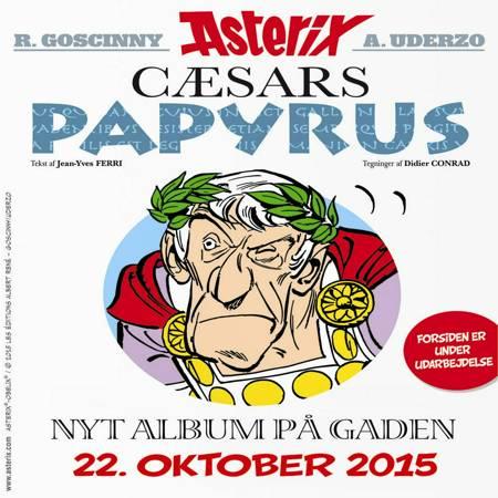 Cæsars papyrus af Jean-Yves Ferri