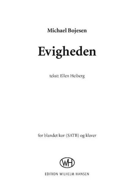 Evigheden af Michael Bojesen og Ellen Heiberg