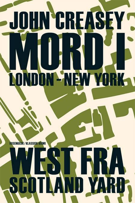 Mord London - New York af John Creasy