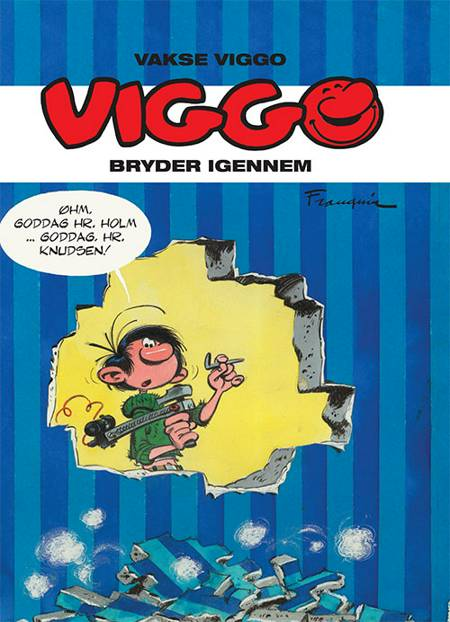 Viggo bryder igennem af André Franquin