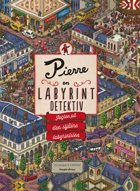 Pierre - en labyrint detektiv af Hiro Kamigaki og IC4design