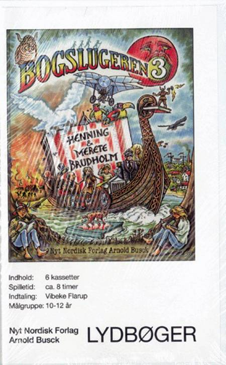 Bogslugeren 3 - læsebog. af Henning Brudholm og Merete Brudholm