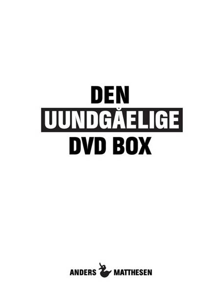 Den uundgåelige DVD box af Anders Matthesen