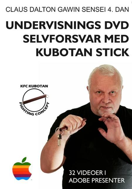 Uddannelses dvd - selvforsvar med kubotan stick af Claus Dalton Gawin