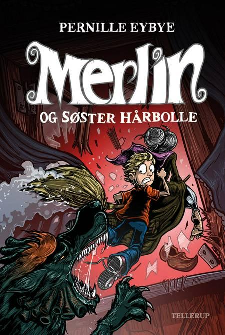 Merlin og søster hårbolle af Pernille Eybye