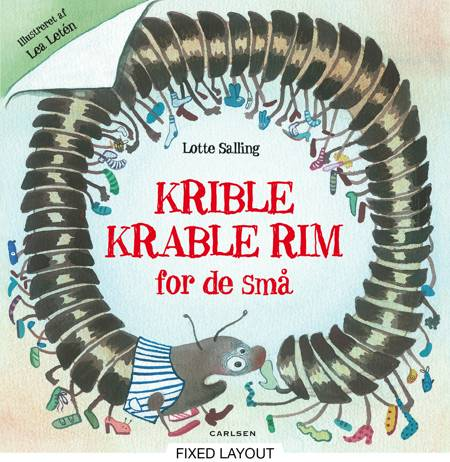 Krible krable rim for de små af Lotte Salling