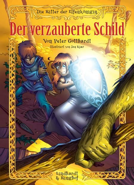 Die Ritter der Elfenkönigin 1: Der verzauberte Schild af Peter Gotthardt