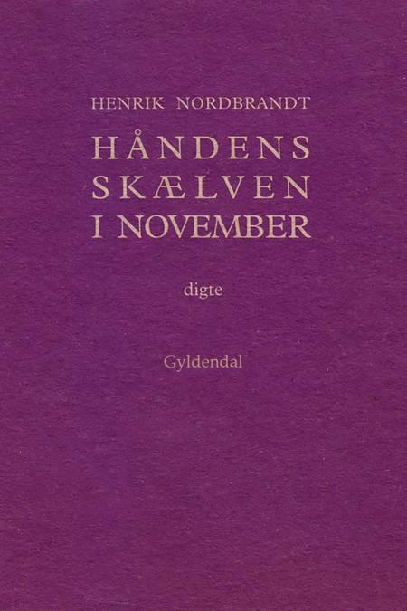 Håndens skælven i november af Henrik Nordbrandt