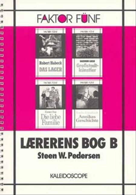 Lærerens bog B af Steen W. Pedersen