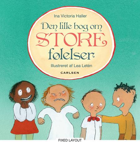 Den lille bog om store følelser af Ina Victoria Haller