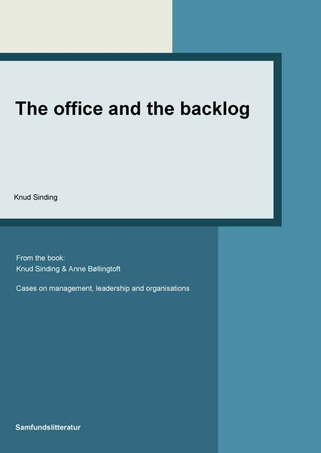 The Office and the Backlog af Knud Sinding