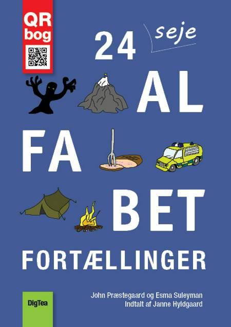 24 seje alfabet-fortællinger af Esma Suleyman og John Præstegaard