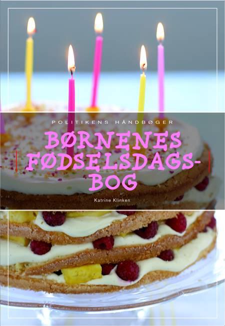 Børnenes fødselsdagsbog af Katrine Klinken