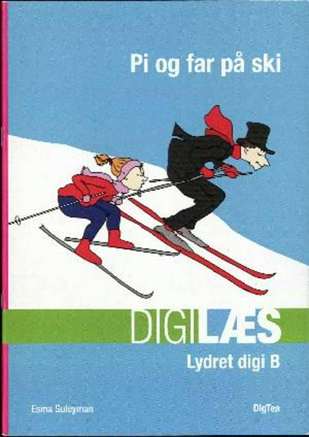 Pi og far på ski af Esma Suleyman