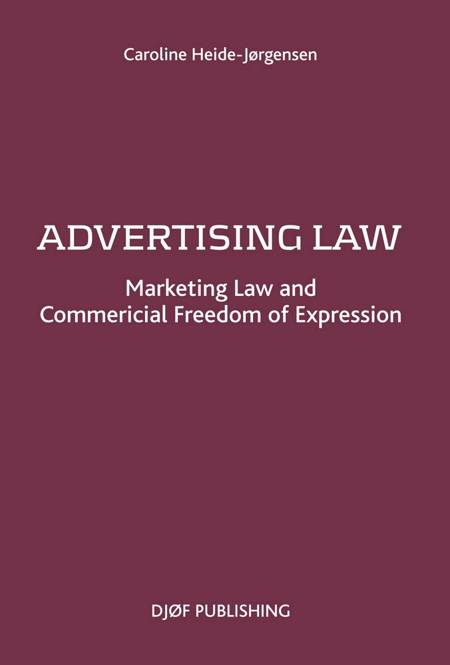 Advertising Law af Caroline Heide-Jørgensen