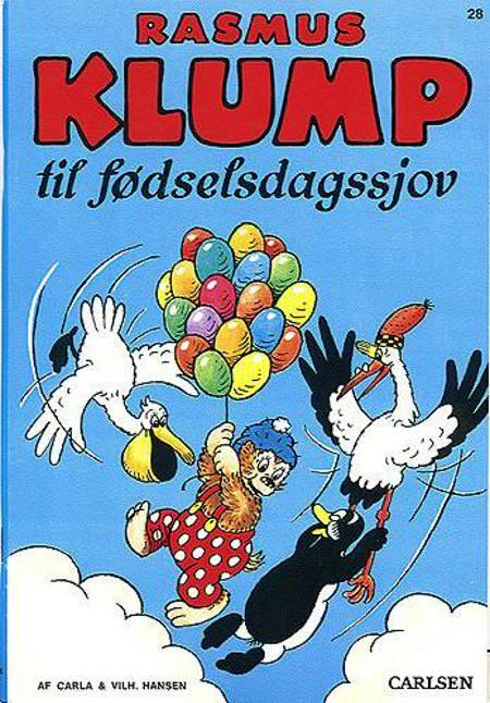 Rasmus Klump til fødselsdagssjov af Vilhelm Hansen og Carla Hansen