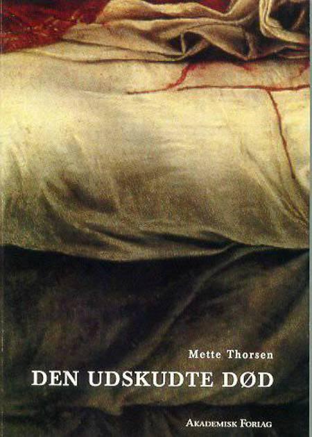 Den udskudte død af Mette Thorsen