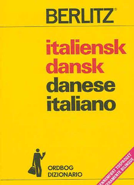 Italiensk-dansk, dansk-italiensk ordbog af Flemming Forsberg og Olivia Schmitt Jensen