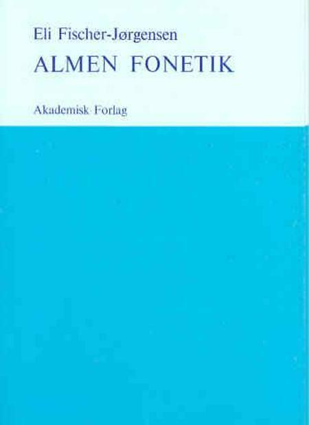 Almen fonetik af Eli Fischer Jørgensen