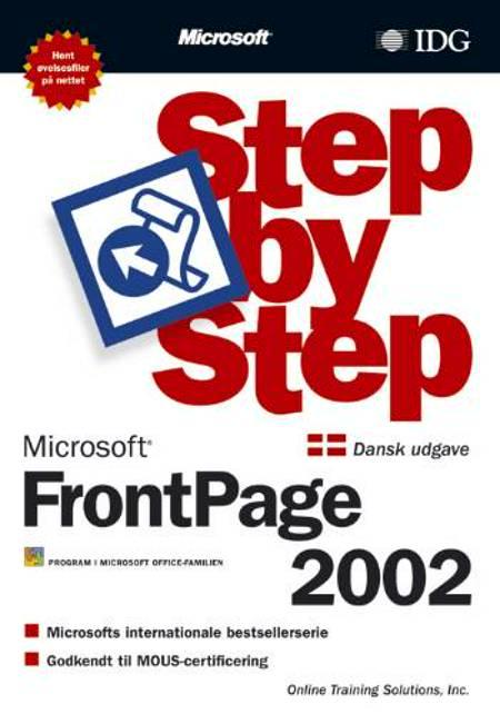 FrontPage 2002 Step by Step af Inc. og Online Training Solutions
