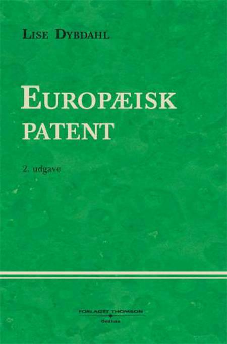 Europæisk patent af Lise Dybdahl