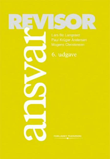 Revisoransvar af Paul Krüger Andersen, Lars Bo Langsted, Mogens Christensen og Lars Kiertzner