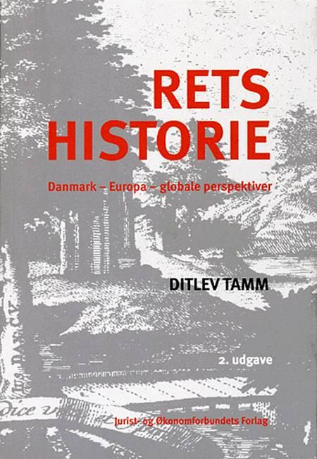 Retshistorie af Ditlev Tamm