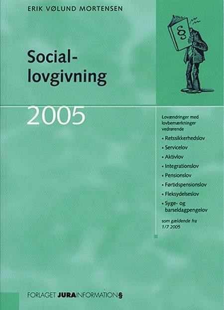 Sociallovgivning af Erik Vølund Mortensen