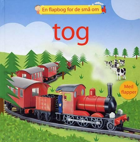 En flapbog for de små om tog af Felicity Brooks