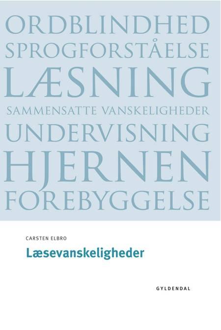 Læsevanskeligheder af Carsten Elbro