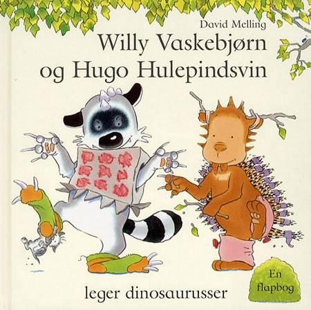 Willy Vaskebjørn og Hugo Hulepindsvin leger dino