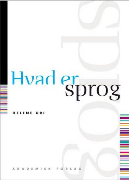 Hvad er sprog af Helene Uri
