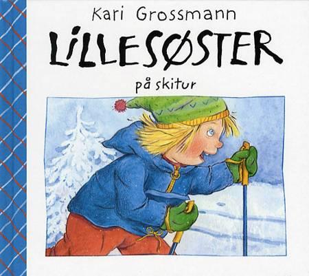 Lillesøster på skitur af Kari Grossmann