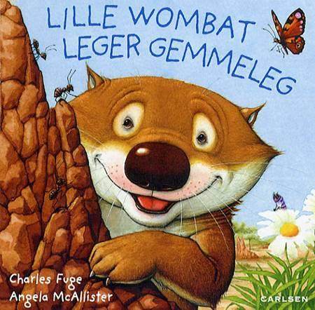 Lille wombat leger gemmeleg af Angela McAllister