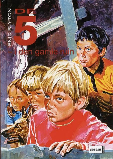 De Fem i den gamle ruin af Enid Blyton