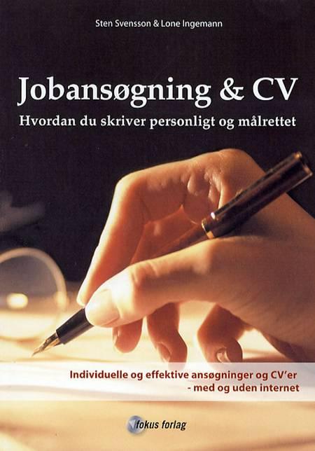 Jobansøgning & CV af Sten Svensson og Lone Ingemann