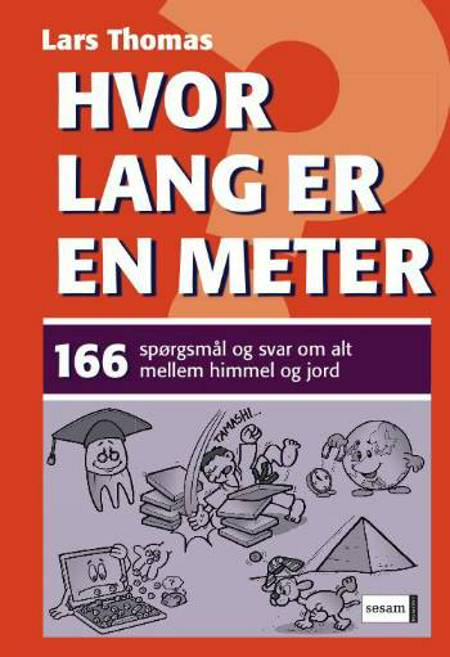 Hvor lang er en meter? af Lars Thomas