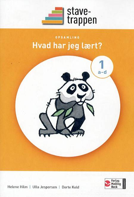 Stavetrappen 1 Hvad har jeg lært? - opsamling af Dorte Kold, Helene Hilm og Ulla Jespersen